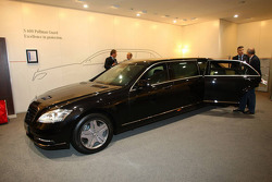 Mercedes S 600 Pulman Guard