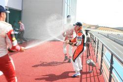 Sam Bird, Jules Bianchi and Esteban Gutierrez