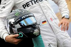 Helmet of Nico Rosberg, Mercedes AMG F1 Team