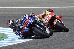 Jorge Lorenzo, Yamaha Factory Racing und Marc Marquez, Repsol Honda Team