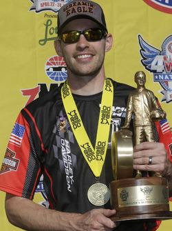 Pro Stock Bike winner Andrew Hines