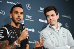 Lewis Hamilton, Mercedes AMG F1 Team and Toto Wolff, Mercedes AMG F1 Shareholder and Executive Director