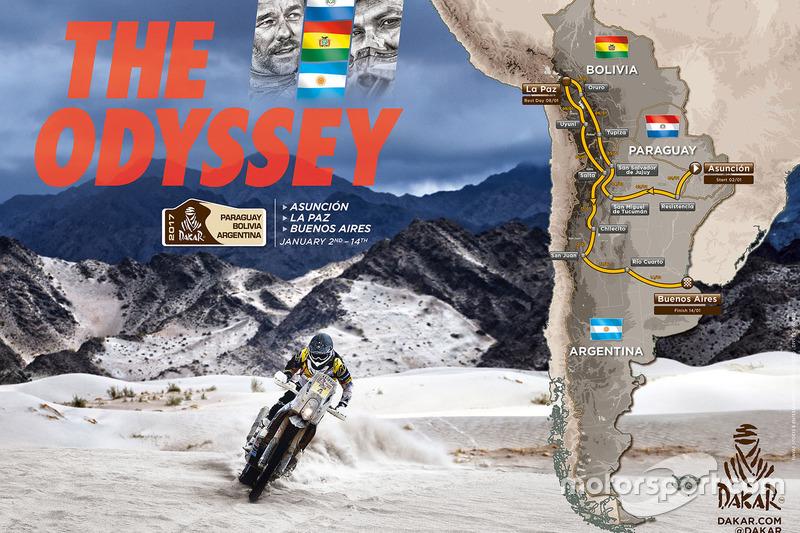 Dakar El recorrido del Dakar 2017