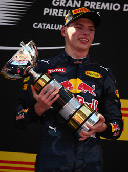 1st place Max Verstappen, Red Bull Racing
