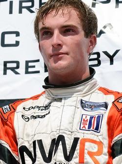 Podium: race winner Jonathan Summerton