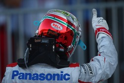 Second place Jarno Trulli, Toyota F1 Team