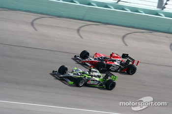 Ernesto Viso, HVM Racing, Justin Wilson, Dale Coyne Racing