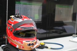 Seth Neiman's helmet
