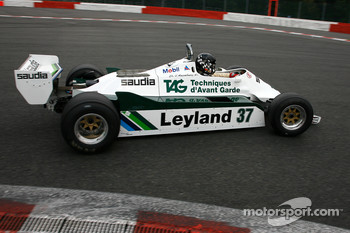 #37 Christophe dAnsembourg Williams FW07/C, 1981