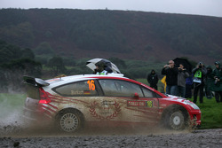 Aaron Burkart and Michael Kolbach, Citroen Junior Team Citroën C4 WRC