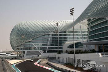 The New Abu Dhabi Yas Marina Circuit