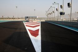 The New Abu Dhabi Yas Marina Circuit, pit exit