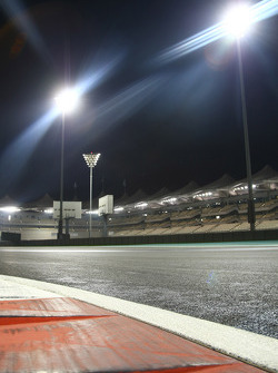 The circuit at night