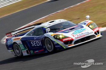 #50 Larbre Competition Saleen S7R - Ford: Roland Berville, Stphane Lemeret, Carlo Van Dam
