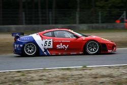 #55 CRS Racing Ferrari F430: Antonio Garcia, Tim Mullen