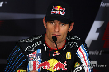 FIA post-qualifying press conference: Mark Webber, Red Bull Racing