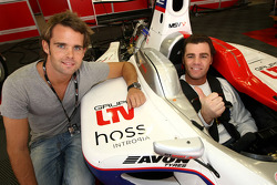 Andy Soucek with Fonsi Nieto World Superbike Rider