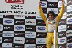 Tristan Vautier on the podium