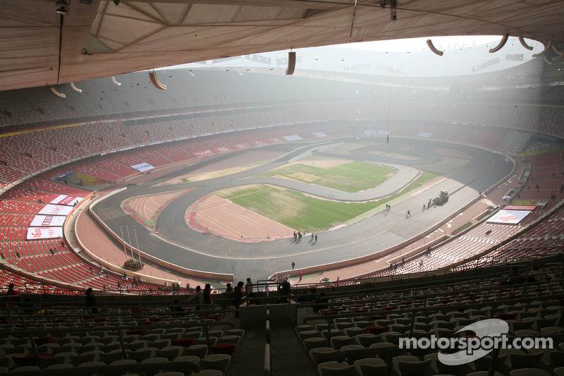 Analysis why isn t f1 in the olympics for The bird s nest stadium