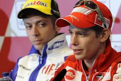 Press conference: Valentino Rossi, Fiat Yamaha Team and Casey Stoner, Ducati Marlboro Team