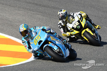 Loris Capirossi, Rizla Suzuki MotoGP, James Toseland, Monster Yamaha Tech 3