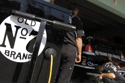 Richard Childress Racing Chevrolet garage area