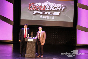 Myers Brothers Awards: Coors Light pole award to Mark Martin