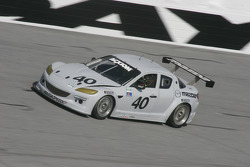 #40 Dempsey Racing Mazda RX-8: Patrick Dempsey, Joe Foster, James Gue, Don Kitch