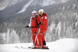 Vittoriano Guareschi and Casey Stoner