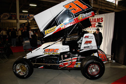 Sean Campbell runs this Super Sportsman at Williams Grove Spedway