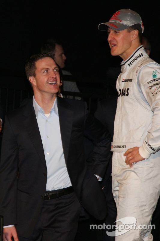 Ralf Schumacher und Michael Schumacher