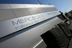 Mercedes GP truck