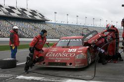 Pit stop for #99 GAINSCO/ Bob Stallings Racing Chevrolet Riley: Jon Fogarty, Alex Gurney, Jimmie Johnson, Jimmy Vasser