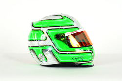The helmet of Vitantonio Liuzzi Force India F1