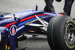 Suspension on the Red Bull