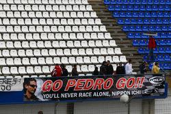 Pedro de la Rosa, BMW Sauber F1 Team fans