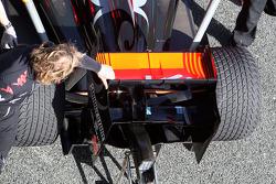 Virgin Racing, detail