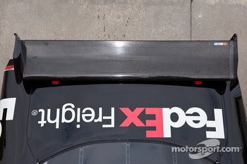 Joe Gibbs Racing Toyota rear wing detail