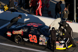 Pit stop for Jesse Smith