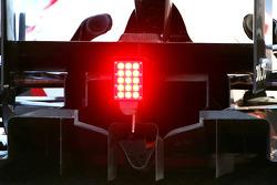 Williams F1 Team, diffusor detail