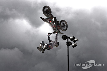 The Metal Mulisha stunt team perform
