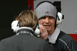 Nico Rosberg, Mercedes GP and Nick Heidfeld, Test Driver, Mercedes Grand Prix