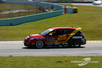 #43 Team Sahlen Mazda Speed 3: Will Nonnamaker, Joe Sahlen
