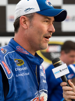 Victory lane: crew chief Steve Addington