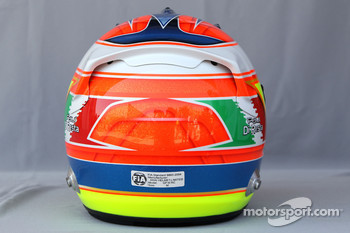 Helmet of Paul di Resta, Test Driver, Force India F1 Team
