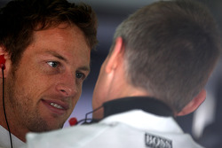 Jenson Button, McLaren Mercedes, Martin Whitmarsh, McLaren, Chief Executive Officer