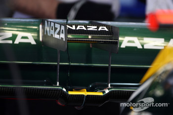 Lotus rear wing