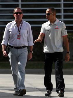 Martin Brundell, Lewis Hamilton, McLaren Mercedes