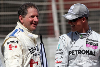 Jody Scheckter, 1979 F1 World Champion, Michael Schumacher, Mercedes GP