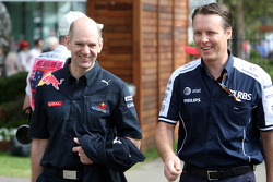 Adrian Newey, Red Bull Racing, Technical Operations Director, Sam Michael, WilliamsF1 Team, Technical director
